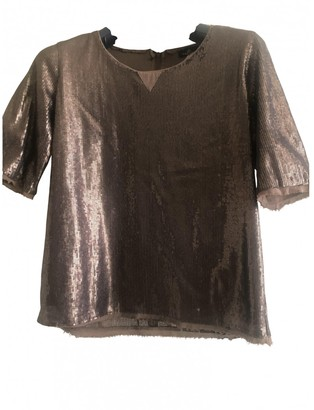 One Step Metallic Top for Women