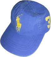Polo Ralph Lauren Big Pony Hat Ball Cap /Yellow