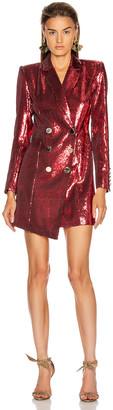 retrofete Selena Jacket Dress in Red | FWRD