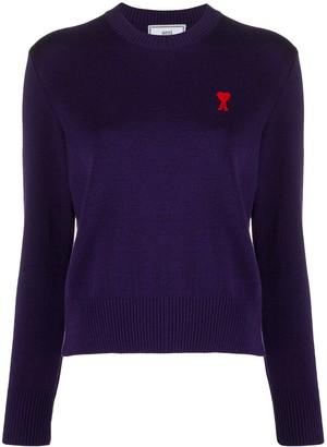 Ami de Coeur knitted jumper