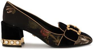 Dolce & Gabbana Jackie floral pumps