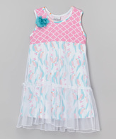 Flap Happy Parrotise Savannah Dress - Infant Toddler & Girls