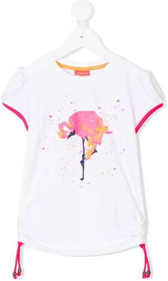 Sunuva Flamingo Rash Vest