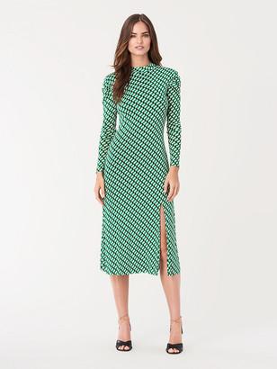 Diane von Furstenberg Sandra Mesh Midi Dress