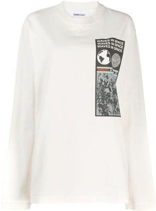 Ambush Graphic Print Sweatshirt