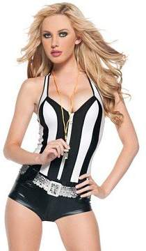 Mystery House Costumes Referee