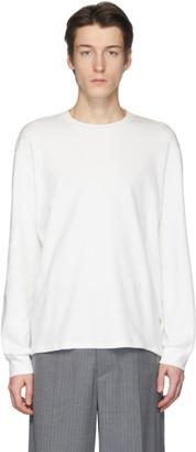 Our Legacy Off-White Shrunken Long Sleeve T-Shirt