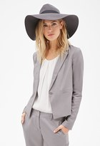 Forever 21 FOREVER 21+ Contemporary Classic One-Button Blazer