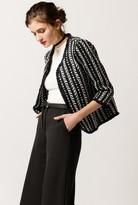 Azalea Open Front Tweed Jacket