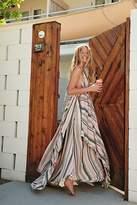The Endless Summer Striped Tropical Heat Maxi Dress