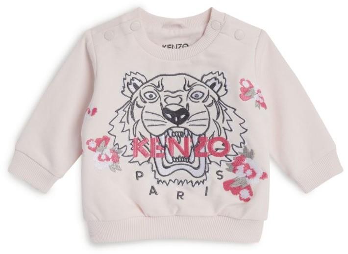 Kenzo Kids Icon Tiger Embroidered Sweatshirt