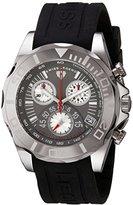 Swiss Legend Men's 18010-014 Tungsten Analog Display Swiss Quartz Black Watch
