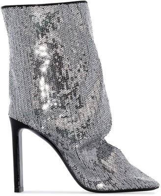 Nicholas Kirkwood D'Arcy 105mm sequin-embellished boots
