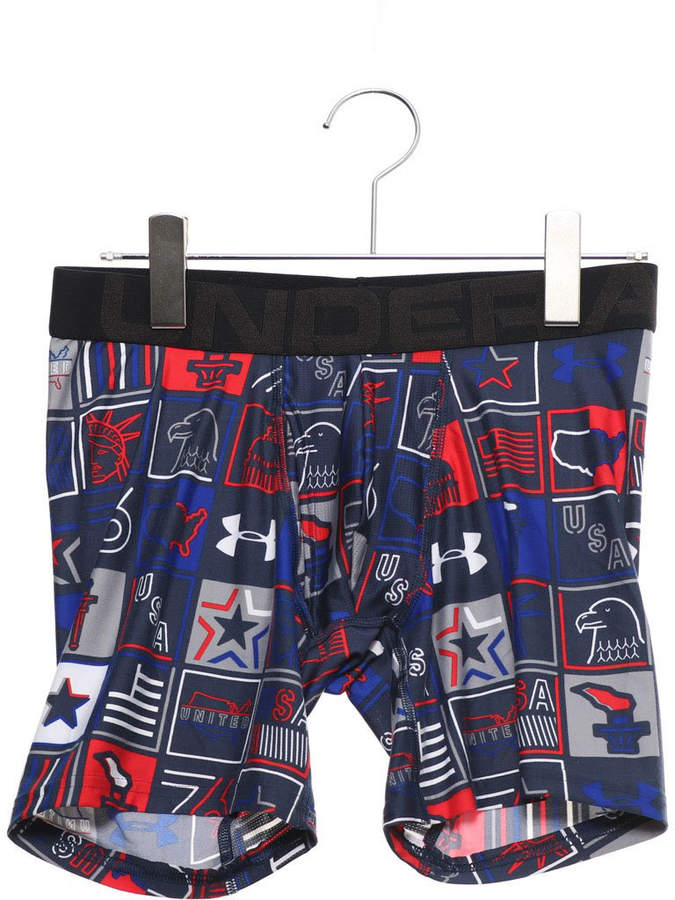 Large Short Mens Midnight Navy Trend Mark Under Armour Ua Woven Graphic Short