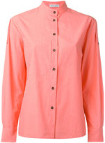 Tomas Maier band collar shirt - women - Cotton - 0