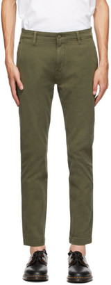 Levi's Levis Green Tapered Standard Trousers
