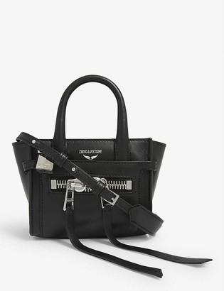 Zadig & Voltaire Candide Nano leather tote bag