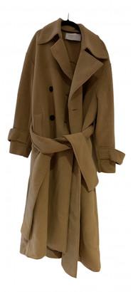 Harris Wharf London Beige Polyester Coats