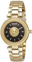 Versus By Versace Versus Versace Women's 'BRICK LANE' Quartz Stainless Steel Casual Watch, Color:Gold-Toned (Model: S64040016)
