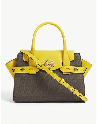 MICHAEL Michael Kors Carmen small leather satchel bag