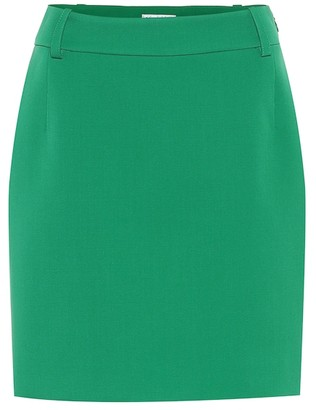 Balenciaga Stretch-wool pencil skirt