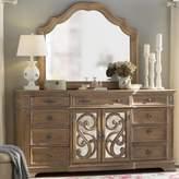 George 9 Drawer Combo Dresser with Mirror One Allium Way