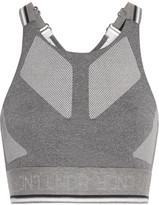 LNDR Glide Mesh-trimmed Stretch-knit Sports Bra