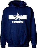 Gildan Men's Dallas Cowboy Pullover Hoodies, Football Hooded Sweater
