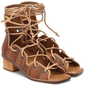 Stella McCartney Maia faux leather gladiator sandals