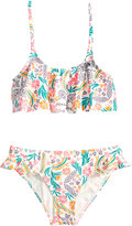Roxy 2-Pc. Babe Flutter Bikini Set, Big Girls (7-16)
