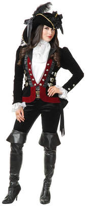 BuySeasons Women Sultry Pirate Lady Wine Jacket Adult Costume