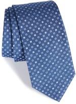 BOSS Men's Geometric Grid Silk Tie