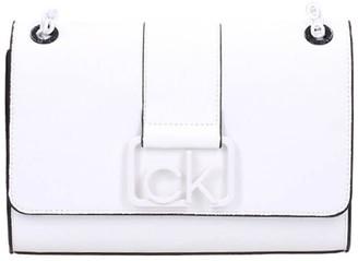 Calvin Klein White Crossbody Bag