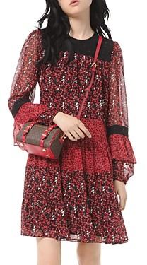 MICHAEL Michael Kors Maple Grove Mixed Print Dress