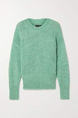 Isabel Marant Estelle Mohair-blend Sweater - Teal