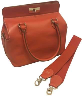 Hermes Toolbox Red Leather Handbags