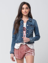 Celebrity Pink Womens Denim Jacket