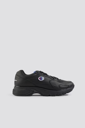 Champion Cwa Low Cut Leather Sneaker Black