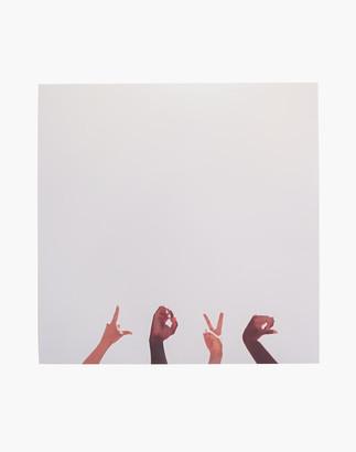 Madewell Max Wanger Print Shop Love, Always Art Photograph