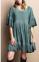 Easel Babydoll Dress