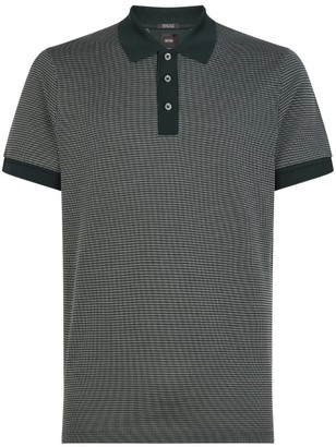 BOSS Cotton-Silk Polo Shirt