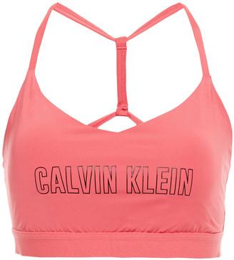 Calvin Klein Printed Stretch Sports Bra