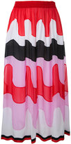 Emilio Pucci embroidered skirt - women - Silk - 40