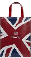 Harrods Medium Vintage Panel Flag Shopper Bag