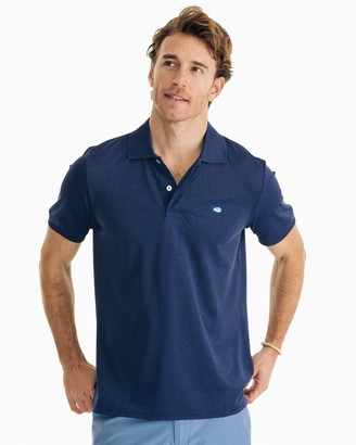 Southern Tide Jack Heathered Performance Polo Shirt