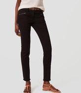 LOFT Frayed Skinny Pants
