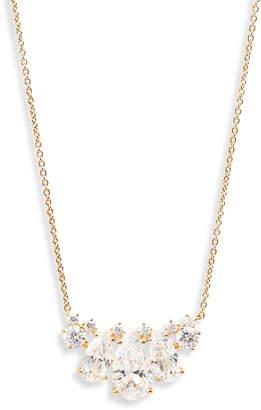 Nadri First Kiss Pendant Slider Necklace