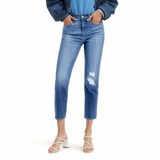 Levi's Women's 724 High-Waisted Straight Crop Jeans
