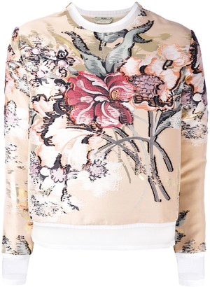 Fendi Layered Floral Top