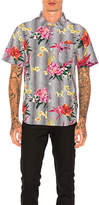 Stussy Psychedelic Dot Floral Button Down